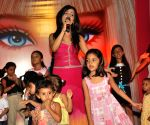 Pink day celebrations with Shibani Kashyap at Inorbit Mall.