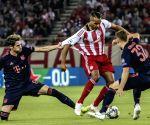 GREECE-PIRAEUS-SOCCER-UEFA CHAMPIONS LEAGUE-OLYMPIACOS VS BAYERN MUNICH