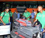 Bangladesh cricket team arrives at IGI Airport