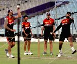 KKR practice session
