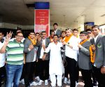 Patna Pirates arrive at Bihar capital
