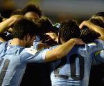 URUGUAY-MONTEVIDEO-SOCCER-WORLD CUP QULIFYING MATCH-URU VS COL