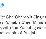 PM Modi greets new Punjab Chief Minister Channi