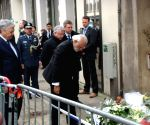 Modi lays wreath at Brussels metro station (Second Lead)