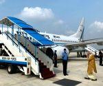 Modi leaves for Ayodhya for Ram Mandir 'Bhumi Pujan'