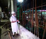 Free Photo: PM Modi visits construction site of new Parliament house
