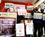 PMC Bank depositors protest