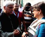 Kolkata Literary Meet 2016 - Javed Akhtar & Sharmila Tagore
