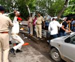 Police thwarts NSUI activists' demonstration