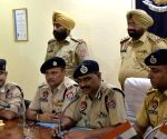 Police Commissioner's press conference regarding arrest of Babbar Khalsa militants