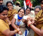 CPI-M's protest against BJP