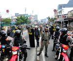 INDONESIA JAKARTA ILLEGAL SETTLEMENTS CLASH