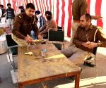 Free Photo: Police personal langar photos