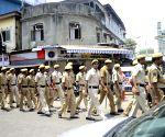 Flag March ahead of 2014 Lok Sabha Elections