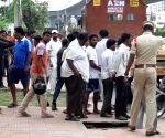 Ragpicker killed in Hyderabad after bag explodes