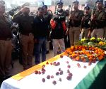 Funeral procession of CRPF trooper killed in Sunjuwan attack