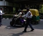 Police strict on helmet violation