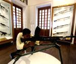 Police personnel visit the newly opened Tamil Nadu Police Museum in Chennai