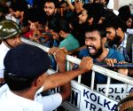 Demonstration against attack on Bangladeshi students