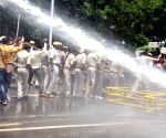 Manrega Majdoor Vikas Sangathan's demonstration