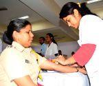 Policemen undergo health check-up