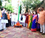 Political parties celebrate Telangana Merger Day