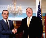 Pompeo, German FM discuss economic recovery, Libya