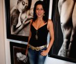 Pooja Bedi at Transition Art Event.