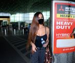 Poonam Pandey Spotted at Airport Departure