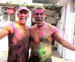 Josh Brolin shares throwback Holi photograph