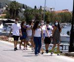 GREECE POROS ISLAND CURFEW COVID19