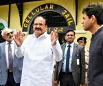 Port Blair: Venkaiah Naidu visits Cellular Jail