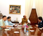 Portuguese envoy meet Rajnath Singh