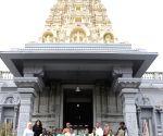 School children visit London Murugan Temple