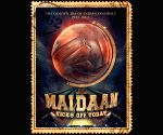 Ajay Devgn Unveils Maidaan Poster And Release Date
