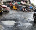 Potholes on Mumbai roads