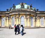 GERMANY POTSDAM SANSSOUCI PALACE