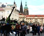 CZECH REPUBLIC-PRAGUE-MILITARY EXHIBITION