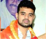 Deve Gowda's grandson files nomination from Hassan