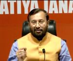 Javadekar targets Rahul over 'rape-and-murder' of minor girl in Punjab