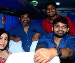Pratiroju Pandaga Movie Team Bus tour