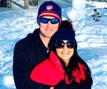 Free Photo: Preity Zinta vacays with hubby, sun, snow and smiles