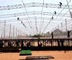 Preparation underway: Jagan Mohan Reddy's swearing-in ceremony