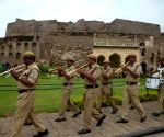 Independence Day rehearsals underway at Golkonda fort