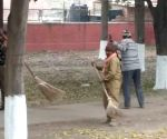 Beautification process underway  ahead of French President's visit