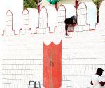 Independence Day preparations underway at Manekshaw Parade Grounds