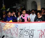 Presidency University students' protest march
