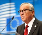 Juncker bids adieu, slams 'stupid nationalism'