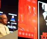 India Today Conclave - President Mukherjee