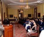 President Mukherjee meets Civil Service Probationers